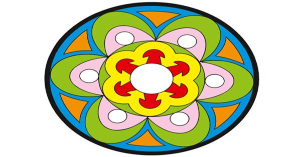 mandala cores materia1