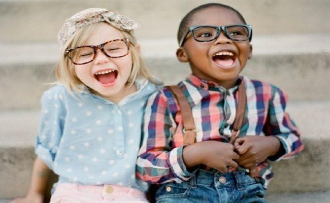 uma criança saudável é espontânea