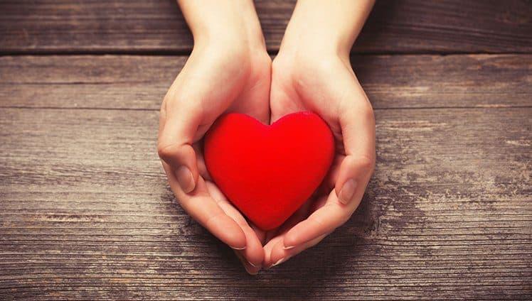 Pessoas que agem com o coração...