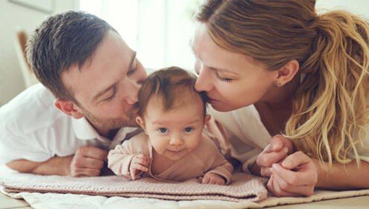 Quando a criança nasce os pais também nascem