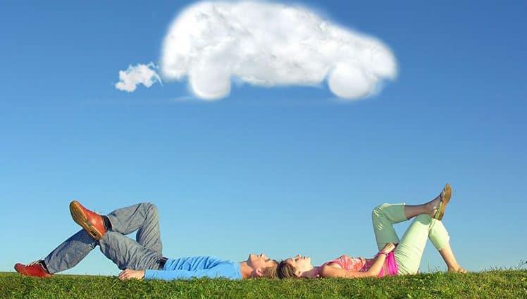 """""""Se os sonhos estão nas nuvens eles estão no lugar certo. Agora construa os"""