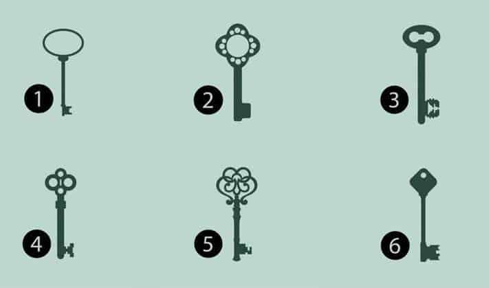 Escolha uma chave e veja2
