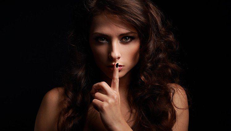 Há algo divino no silêncio de fala...