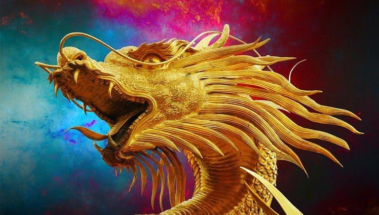 a figura do dragão