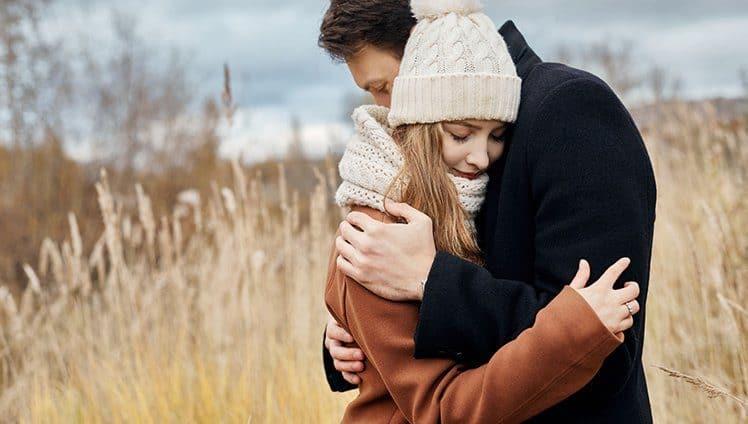 o poder mágico do abraço