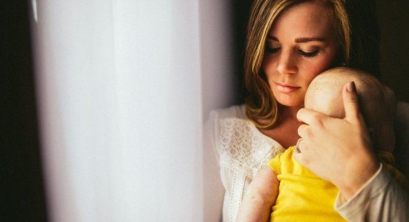 Maternidade, na dura