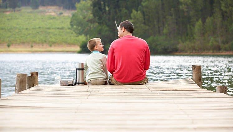 ensinar a pescar