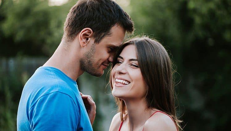 O amor é pra quem tem a ousadia de tentar
