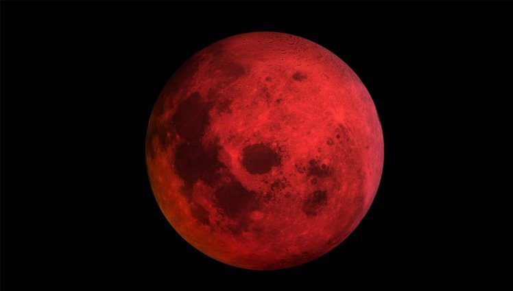 eclipse e lua de sangue