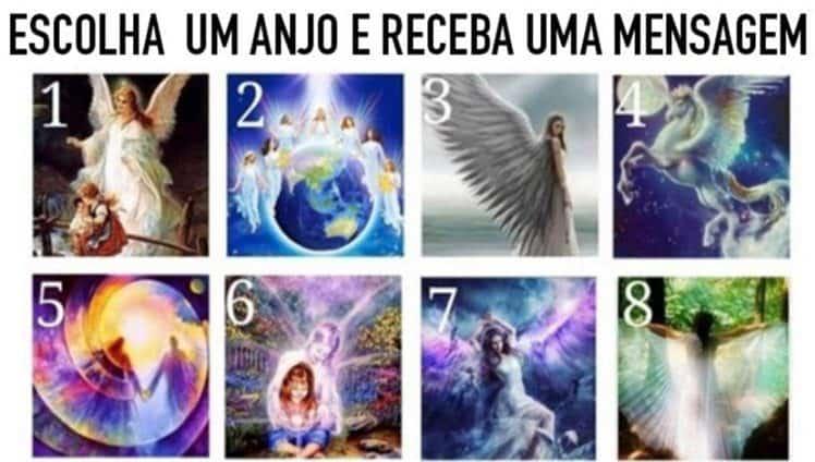 escolha um anjo