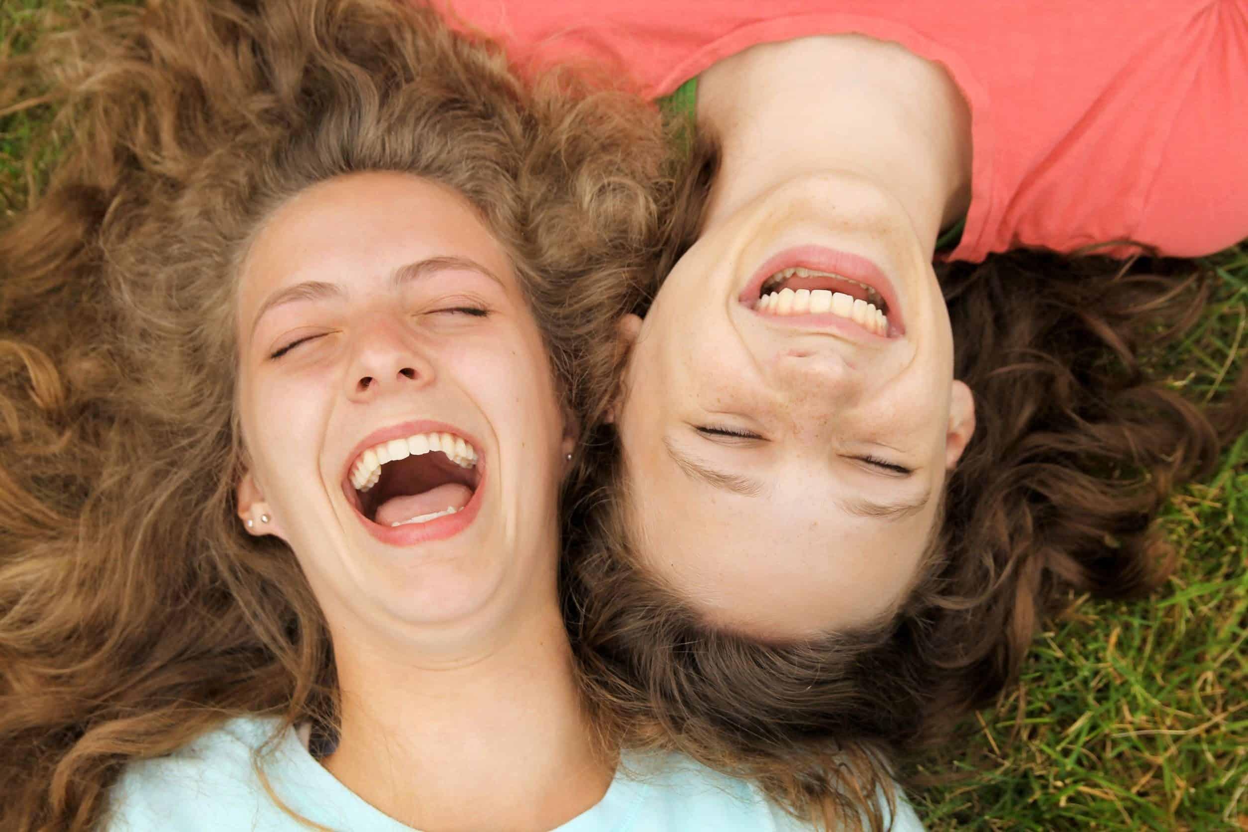 Rir alto pode te ajudar