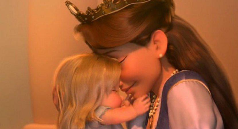 Beijo de mãe pode