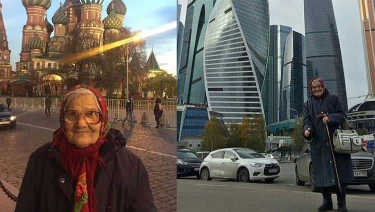 vovó russa de 89