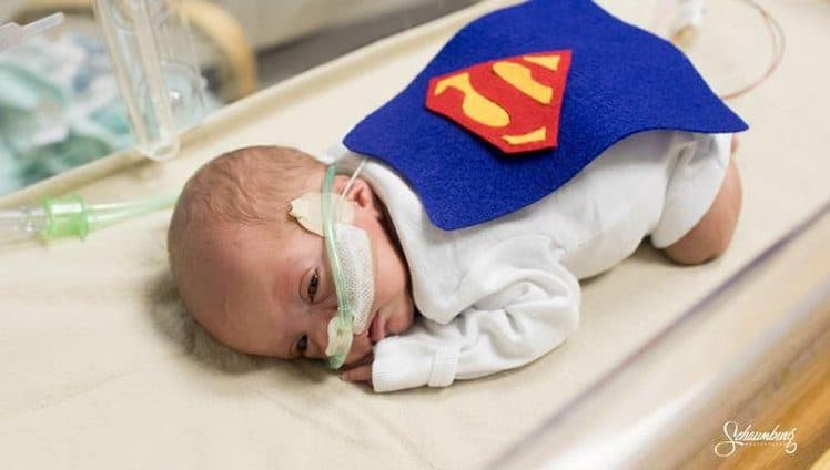 hospital veste bebês
