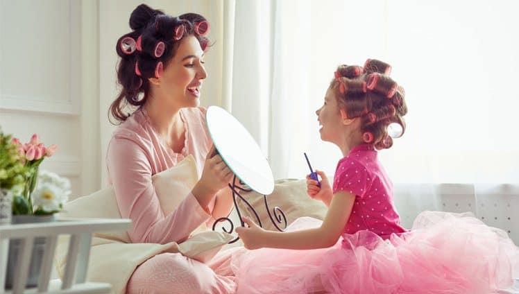 crianças que têm as tias