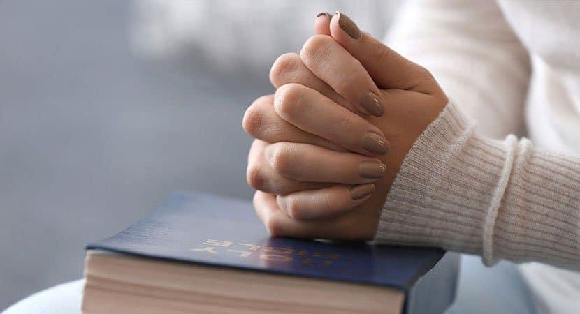 Orar me traz a sensação