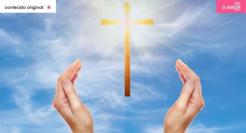 A mão de Deus é o que nos sustenta e nos faz vencer