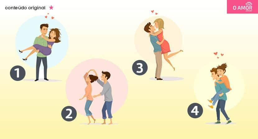 O casal que você escolher revela quando você vai começar a namorar
