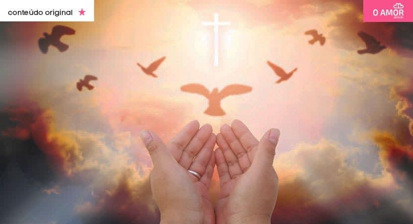 Que o Espírito Santo seja seu guia e dê saúde amor e bênçãos para o seu lar