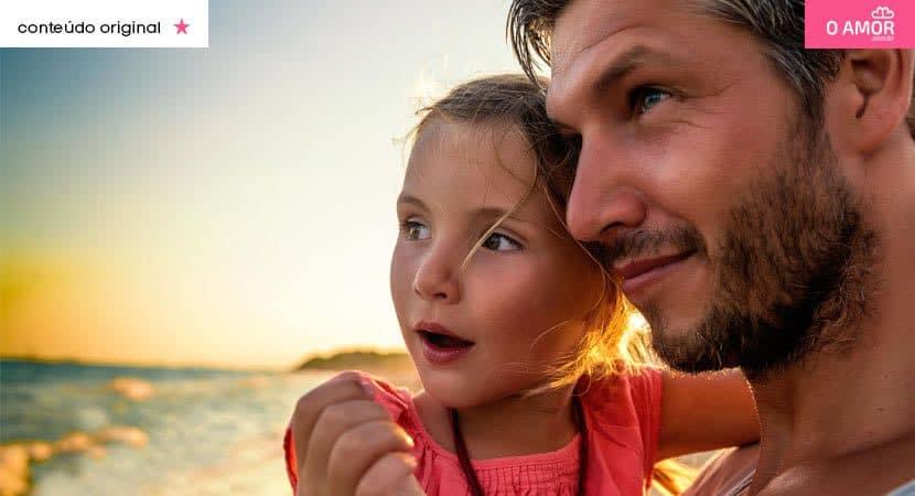 O amor e o cuidado são os melhores presentes que um filho pode querer de um pai