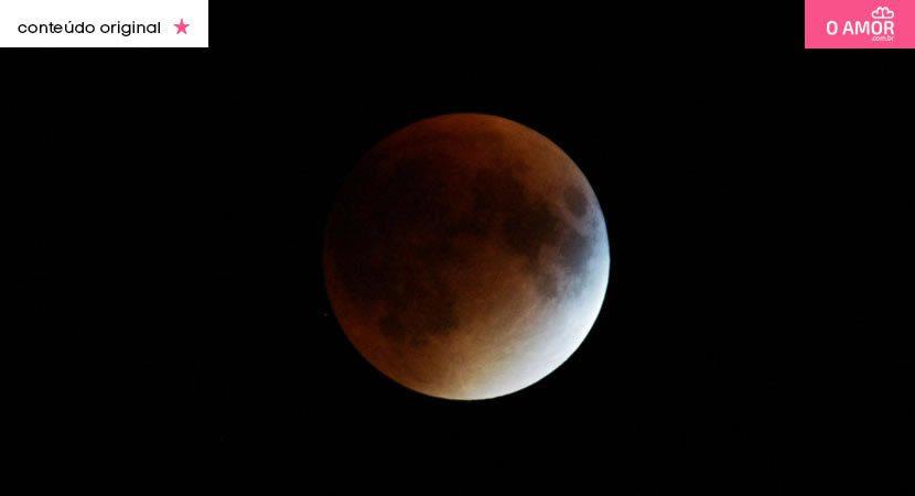 Um espetáculo no céu eclipse lunar será visto em todo o Brasil neste domingo