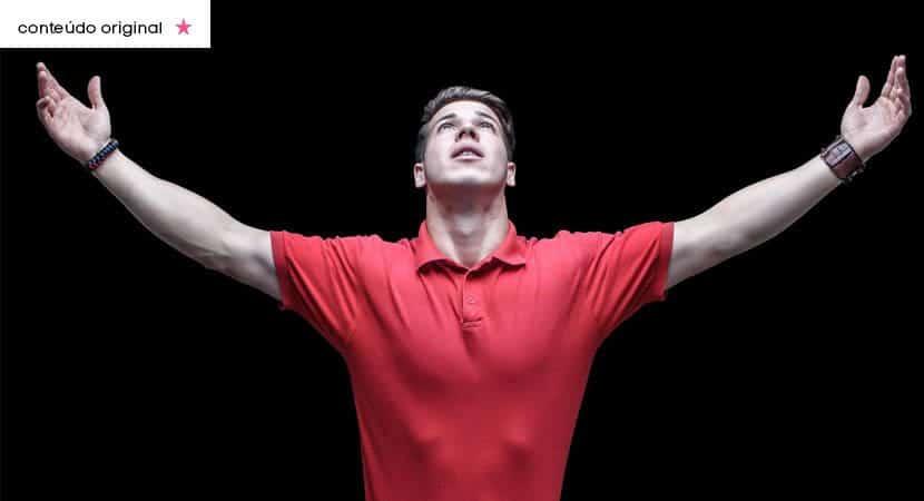 Deus tem um recado para você Não temas eu já preparei a tua vitória