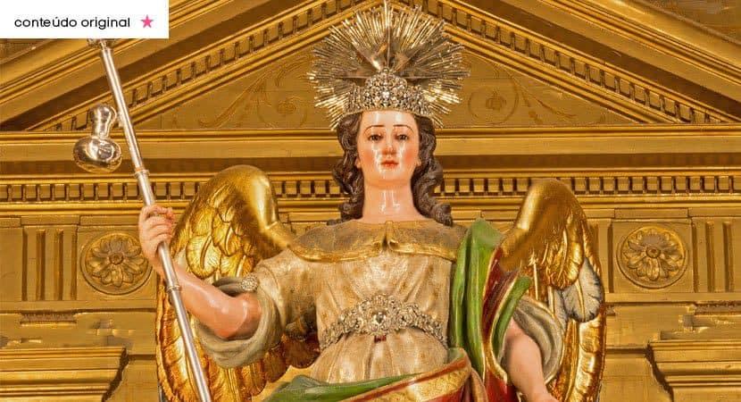Anjo Rafael guardião da cura de Deus fortaleça a minha saúde e afasta me de todo mal