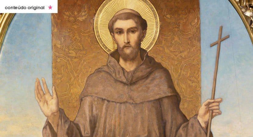 São Francisco de Assis lançai sobre nós suas bênçãos e guia nos pelo caminho do amor de Cristo