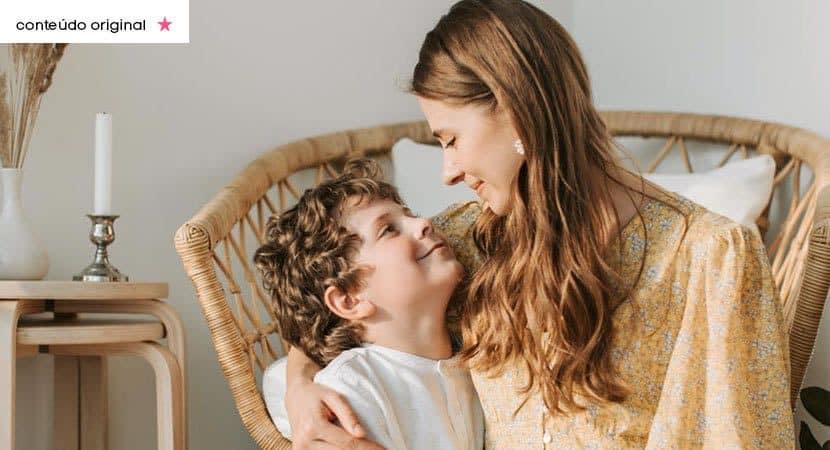 Só um homem forte e de caráter pode conquistar o coração de uma mulher que tem filhos
