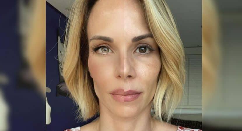 Capa Marcas que contam minha historia diz Ana Furtado ao postar montagem com seu rosto