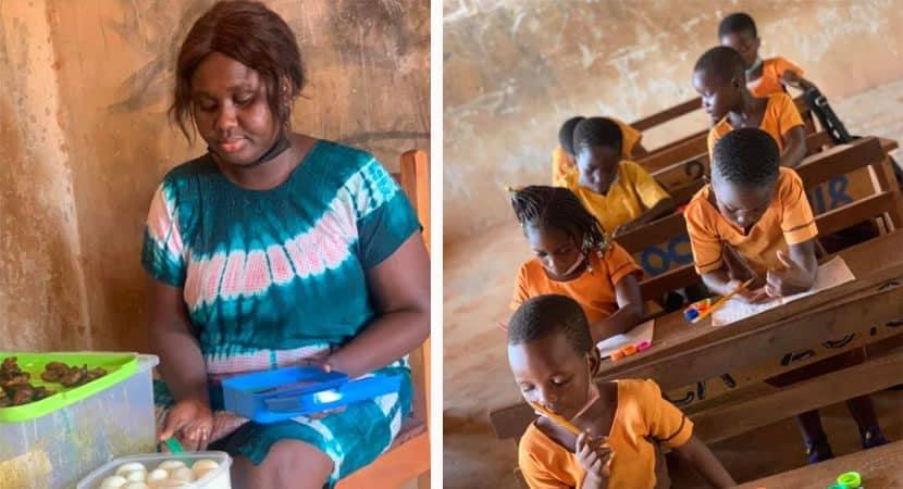 Capa Professora de escola rural prioriza saude de seus alunos e cozinha para eles Amor alem da profissao