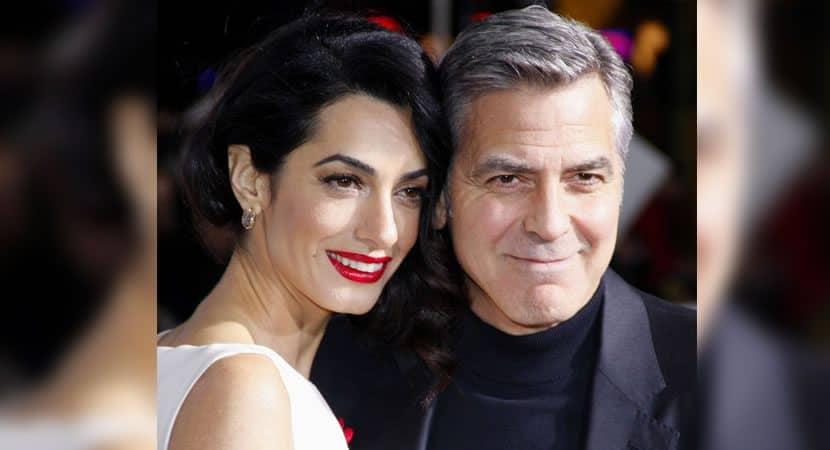 George Clooney faz declaracao para sua esposa A vida era vazia antes de conhece la