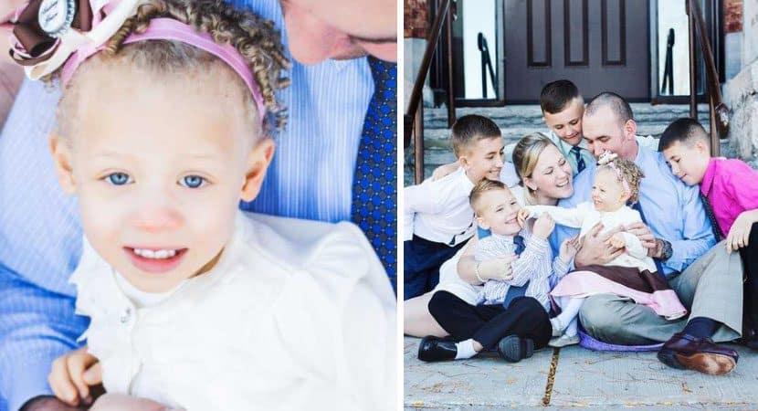Capa Depois de 2 anos mae finalmente consegue a guarda de sua filha adotiva A familia esta completa