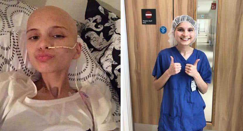 Capa Eu so tinha 20 de chance de sobreviver jovem vence cancer raro e decide virar medica