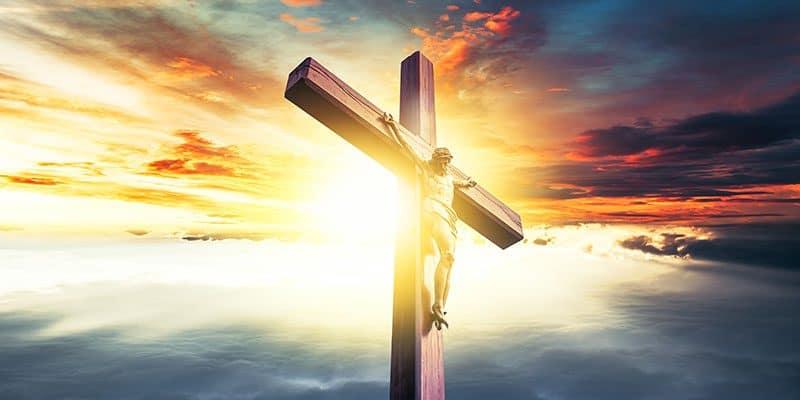 Jesus morreu na cruz para nos provar que podemos vencer qualquer obstaculo