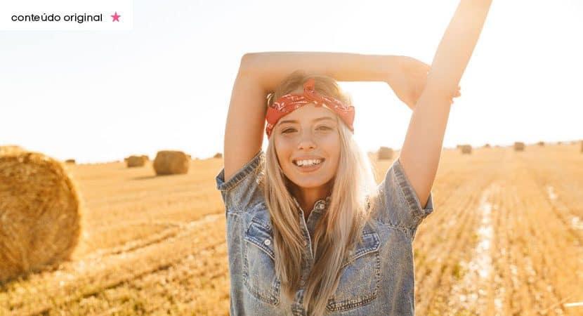 Mesmo que sinta falta de alguem uma mulher forte segue em frente rumo a felicidade
