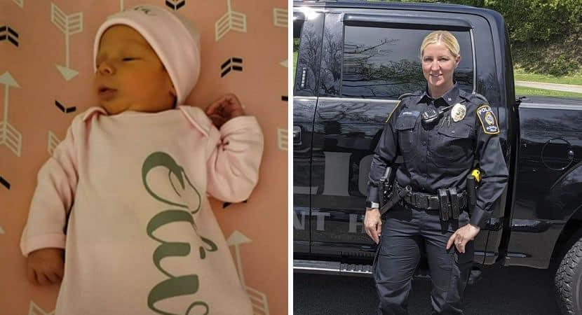 1 capa Deus me colocou la naquele dia policial salva vida de recem nascida de 9 dias em carro e emociona