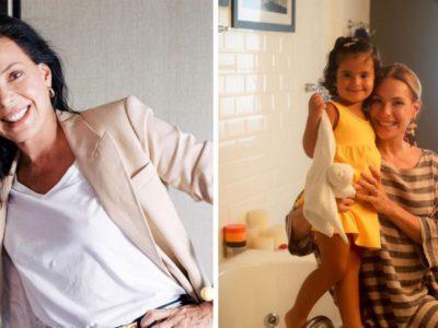 Capa Carolina Ferraz conta experiencia com maternidade aos 46 anos Faco coisas que uma mae de 20 nao faz