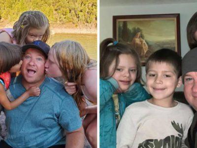 1 capa Pai solteiro adota 3 irmaos que haviam sido colocados em abrigos 16 vezes Ofereceu um lar e amor