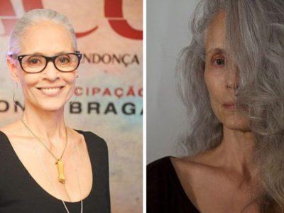2 Capa Aos 71 anos Sonia Braga exalta beleza dos cabelos brancos Simbolo de liberdade