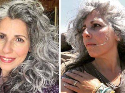 5 Capa Se a nossa cor de cabelo determina nossa idade ser grisalha e ter um compromisso com a ousadia
