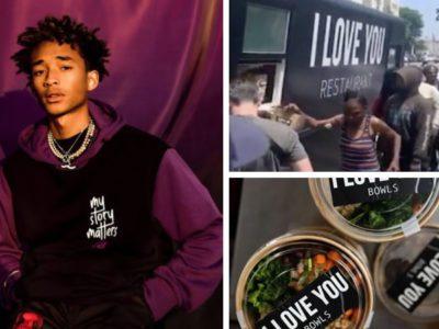 depois do Food Truck Jaden Smith abrira restaurante para oferecer refeicoes gratuitas a moradores de rua