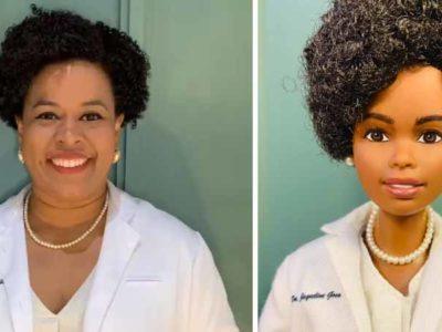 3 Capa Doutora brasileira e homenageada por ajudar a sequenciar o DNA do coronavirus e vira boneca Barbie