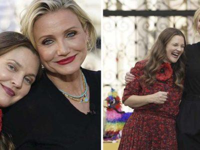 1 Capa Drew Barrymore e Cameron Diaz exibem beleza natural e sao muito elogiadas na web