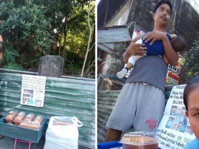 1 Capa Pai desesperado vende doces na rua para salvar vida de bebe que precisa de transplante de figado