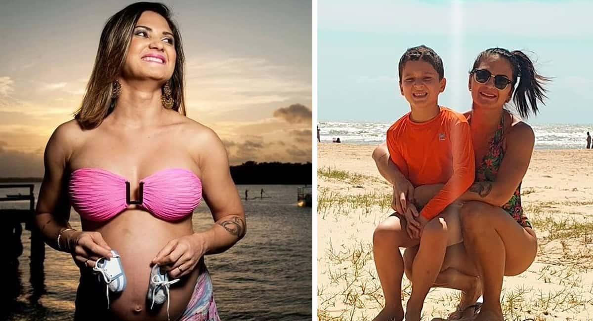 1 capa Atleta com cancer descobriu gravidez durante tratamento e teve o filho Nunca pensei em interromper
