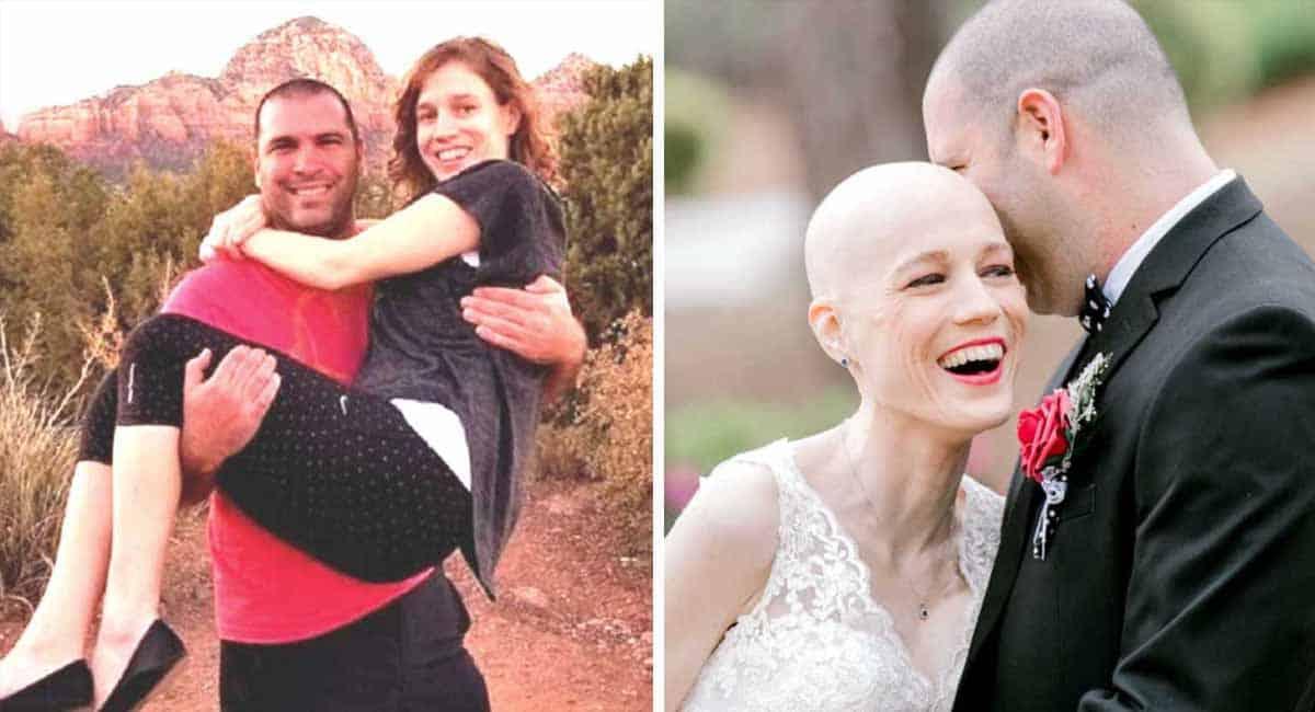 3 Capa Homem apaixonado nao desiste do amor e se casa com mulher em estagio terminal de cancer