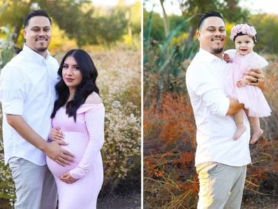 5 Capa Pai recria fotos com a filha para homenagear esposa falecida Quero deixar sua mae orgulhosa