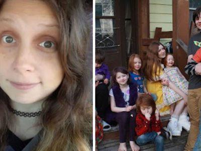 capagravida do 12o filho aos 35 anos mulher revela que ainda deseja mais 5